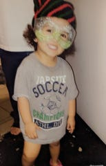 Faviola Rodriguez, age 2
