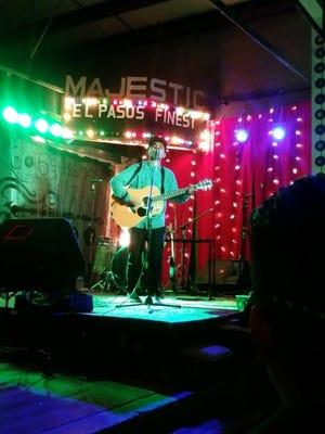 Acoustic indie folk music singer Santana Garcia.
