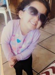 Fabiola Rodriguez, age 2