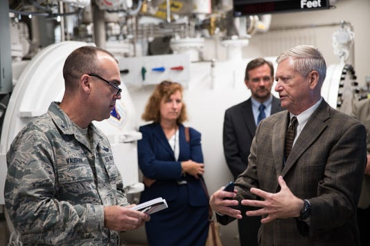UPE Integration Team lead visits Wright-Patterson AFB