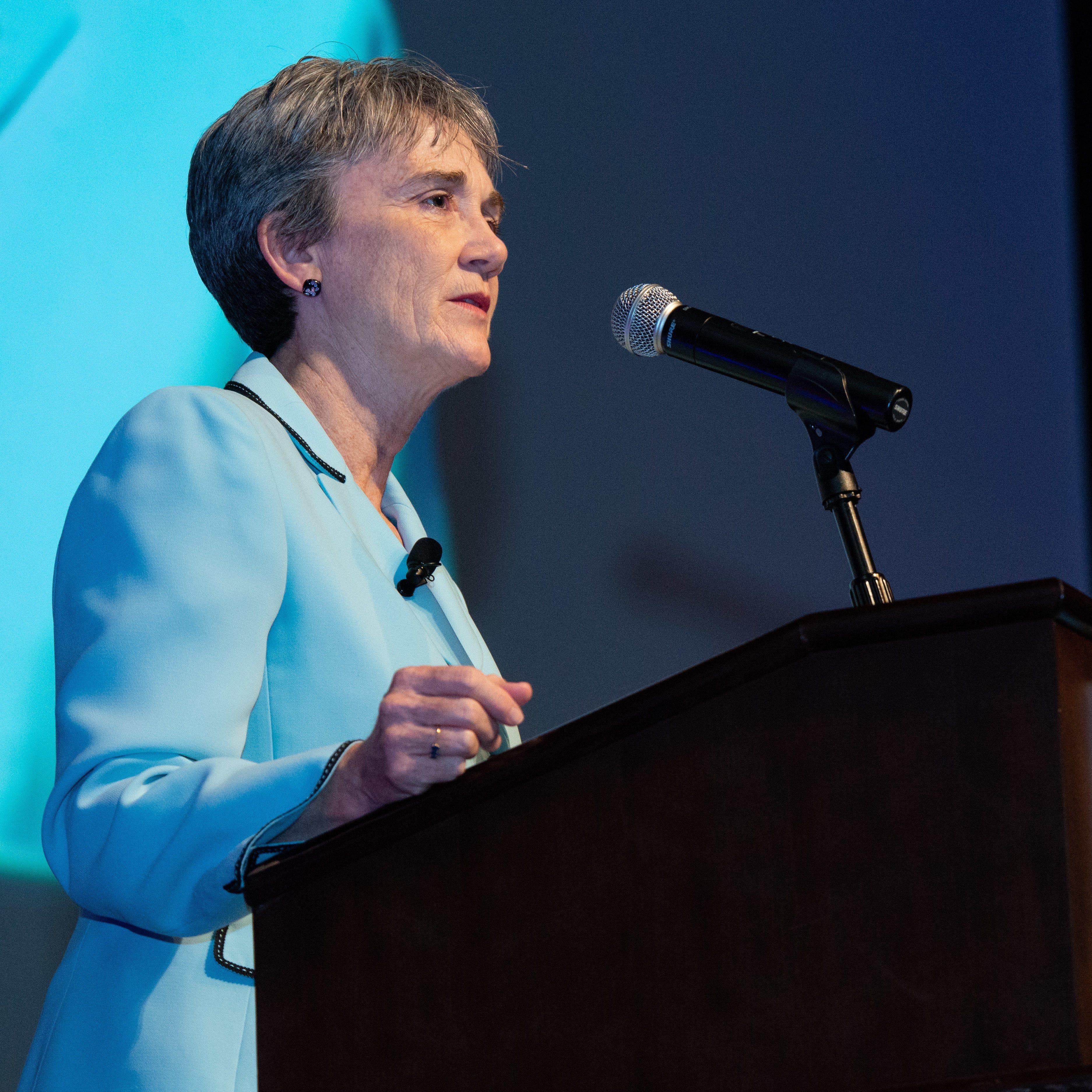 Heather Wilson, U.S. Air Force Secretary, to replace UTEP President Diana Natalicio