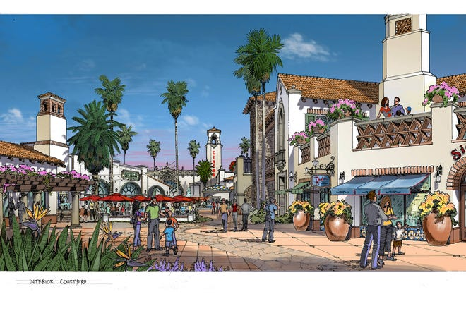 Developer Alex Haagen is in the middle of a renovation of the Indio Grand Market Place, as the project has been renamed.