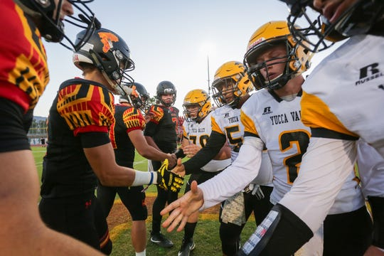 Yucca Valley High School football is looking for a new coach after winning the DVL title in 2019.