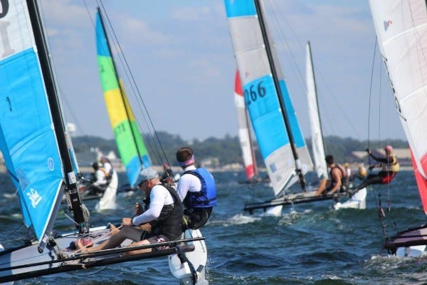 The Hobie 16 North American Championships will be in Navarre Beach for the first time on Sept. 10-14. The race will feature more than 60 teams from all over the U.S. and will determine the national champion on a 16-foot catamaran.