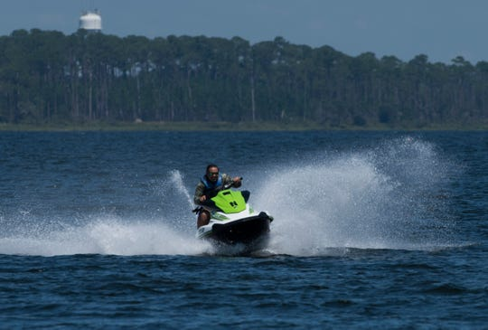 Gulf Islands National Seashore is looking to reduce the no-wake zone in waters surrounding Pensacola Beach and Gulf Islands National Seashore from 300 yards to 150 yards and require all personal watercraft meet 2010 emission standards.