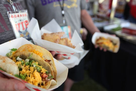 The Rockin' Taco Street Fest highlights unique taco options from local Valley restaurants.