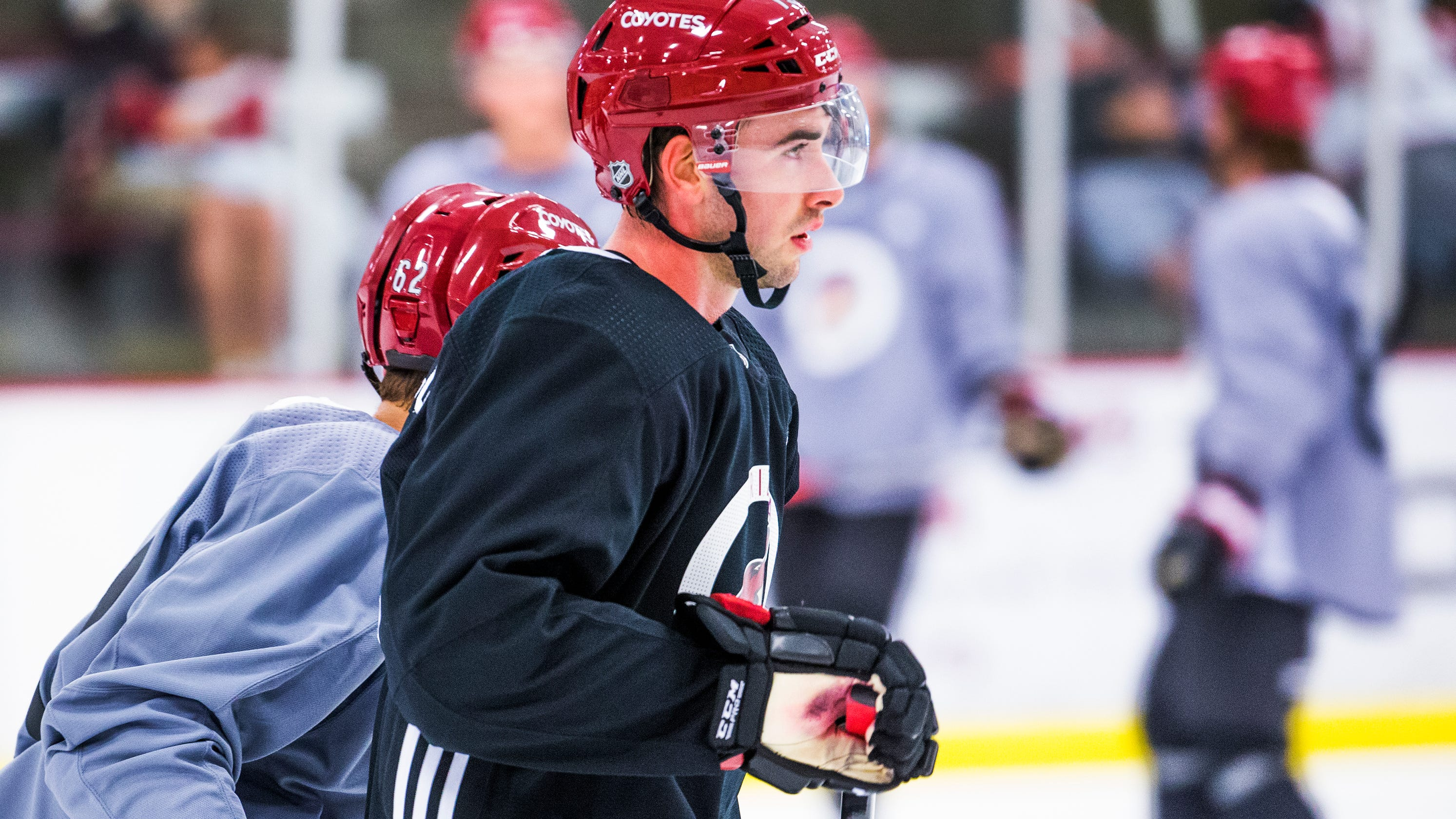 Arizona Coyotes  Are there any rookies who could make the roster on opening  night  b778d410f