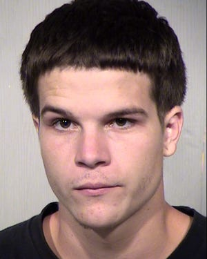20-year-old John Ryan Eaves was booked on eight different charges.