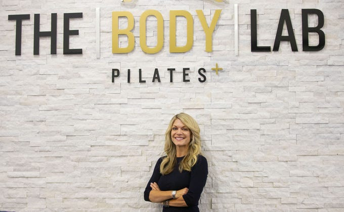Jenny Cushing is co-founder of The Body Lab, one of two Valley fitness studios that offer the Lagree Method, a hardcore Pilates workout that uses the Megaformer machine.