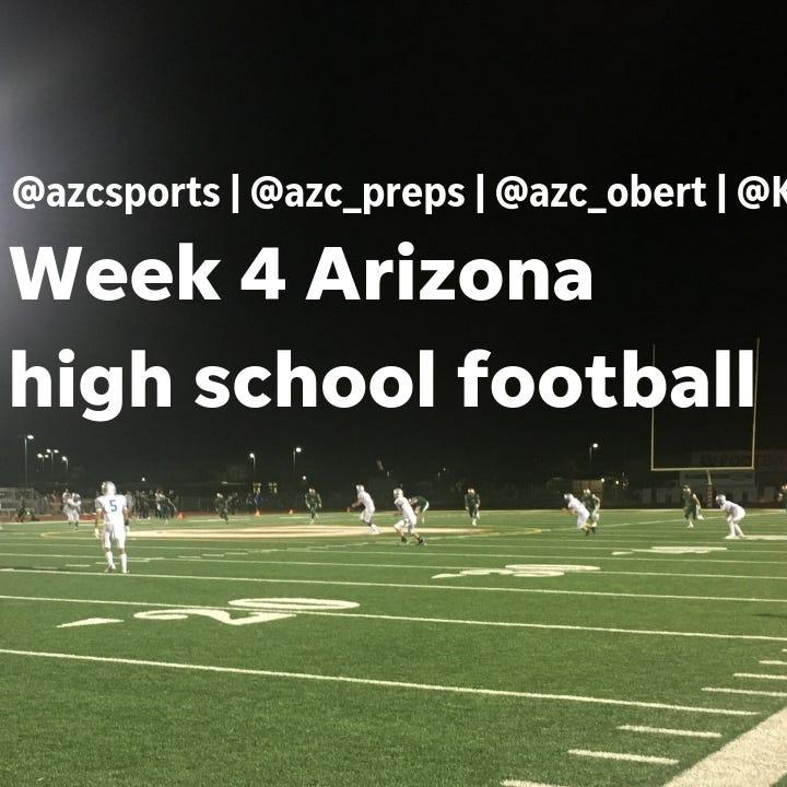 Live: Arizona high school football Week 4 updates