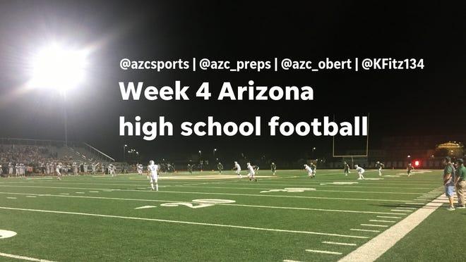Arizona high school football Week 4