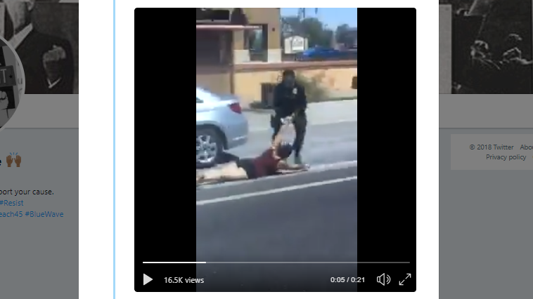 Video shows Goodyear police officer striking woman, yanking her from car