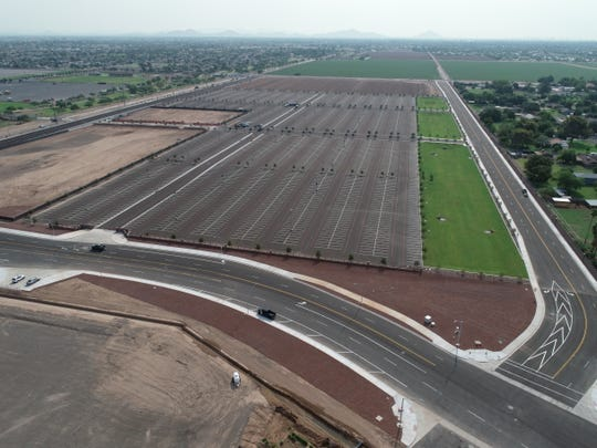 New Black Lot south of State Farm Stadium