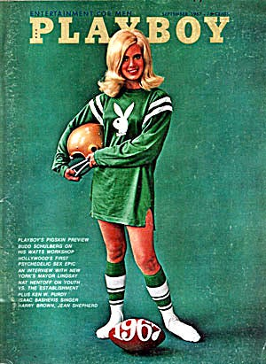 """Elizabeth """"Bo"""" Black was a cheerleader at the University of Wisconsin-Madison when she posed - fully clothed - for Playboy magazine in 1967."""