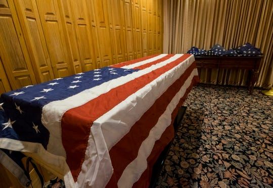 Pollock-Randall Funeral Home in Port Huron is collecting retired American flags to be cremated with veterans.