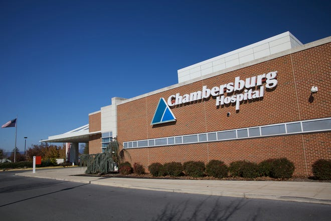 The front of Chambersburg Hospital. Over the next several months, this and other Summit Health facilities will take on the Wellspan name.