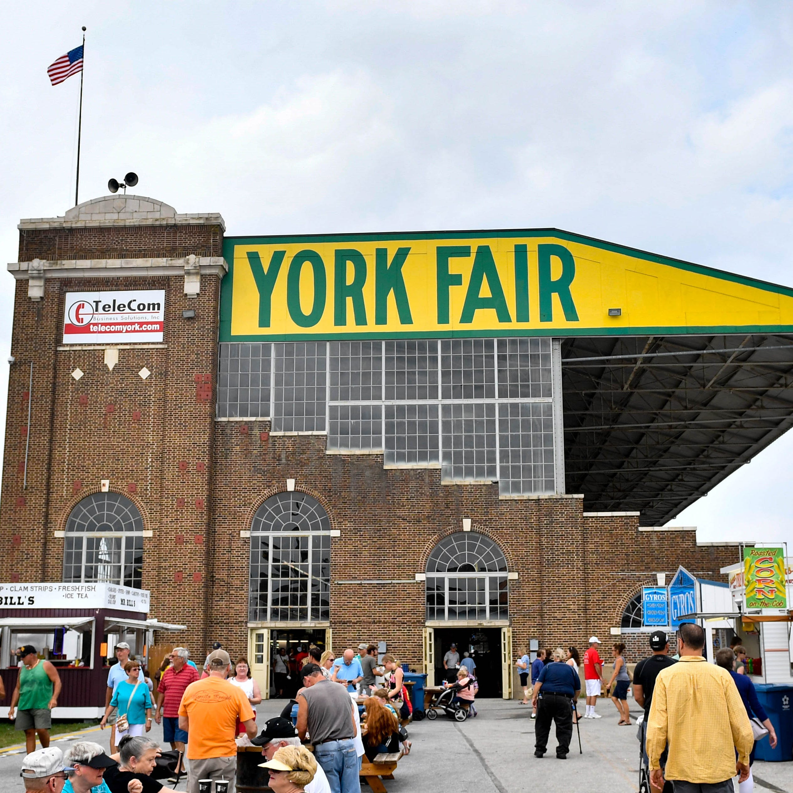 Blame it on the rain: Attendance down at York Fair this year, worst in decade