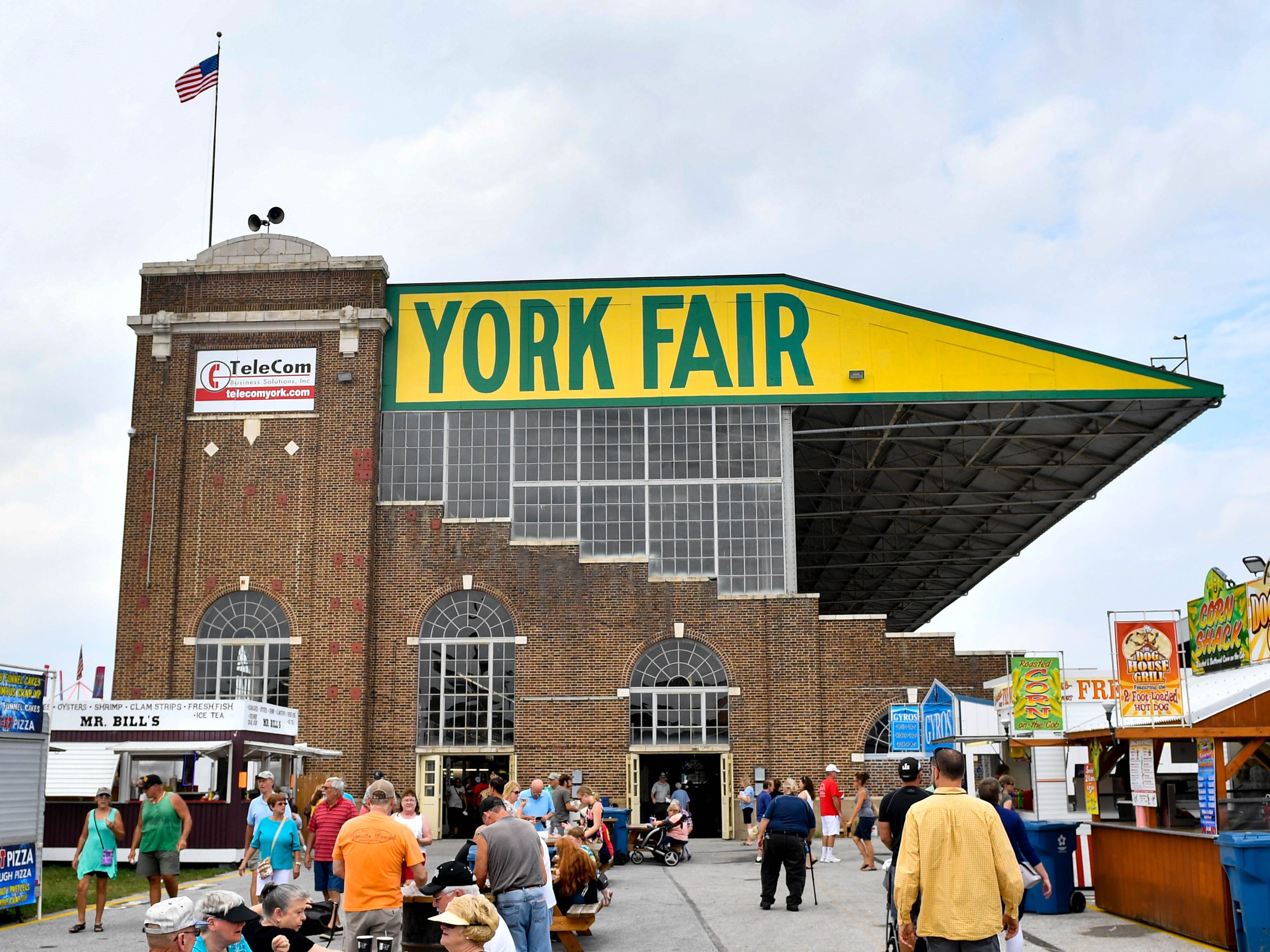 Every inch of the York Fair has food, games, rides or other experiences for all to enjoy.