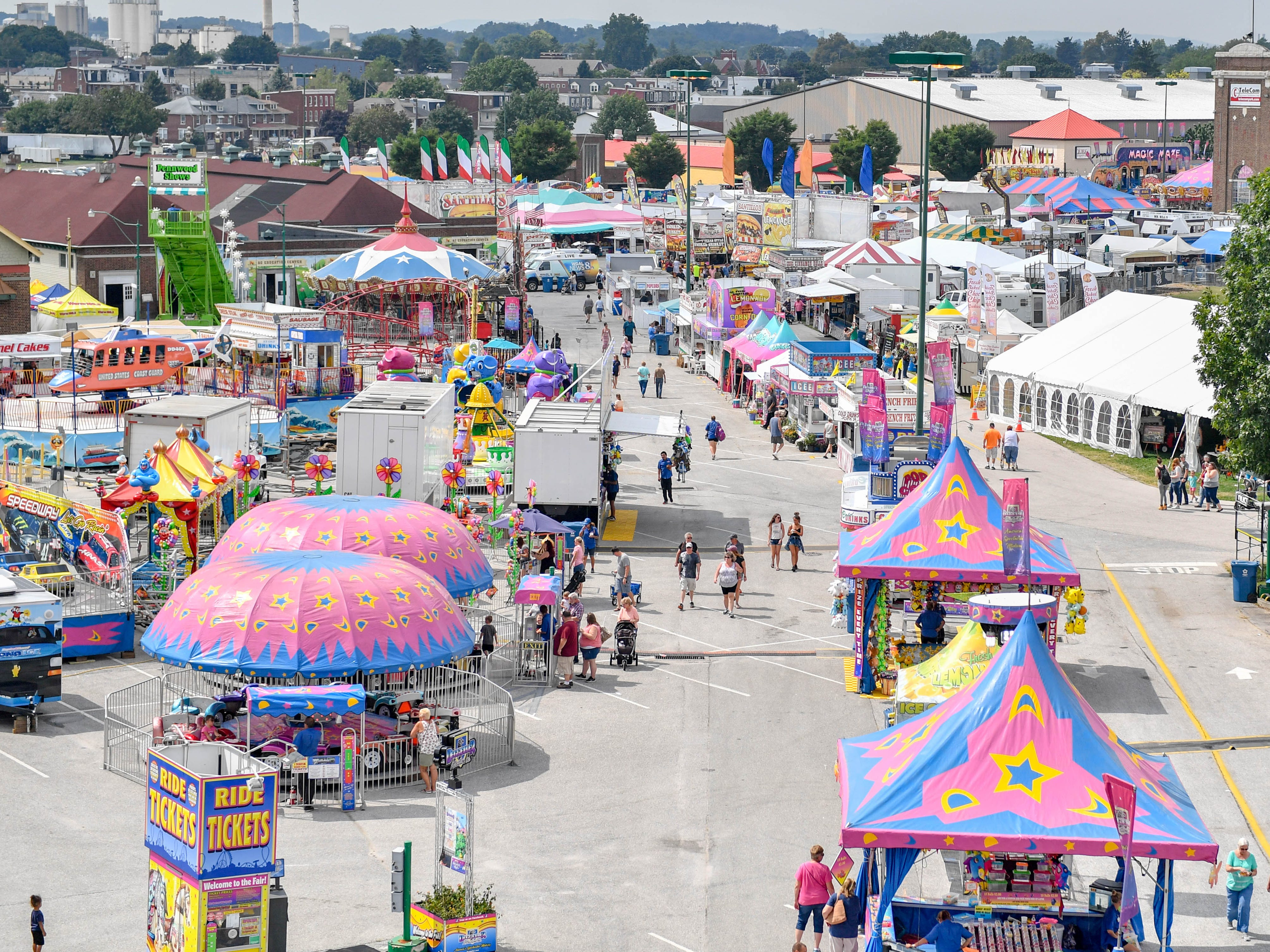 The 2018 York Fair kicks off, bringing people from across Pennsylvania to York County, Friday, September 7.