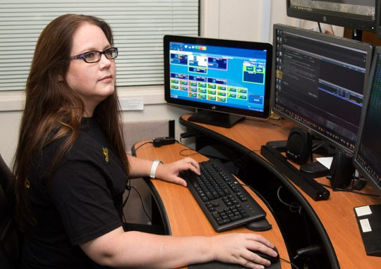 Lyon County Sheriff's Dispatch Supervisor Jennifer Moore.