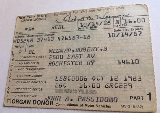R Wegman License