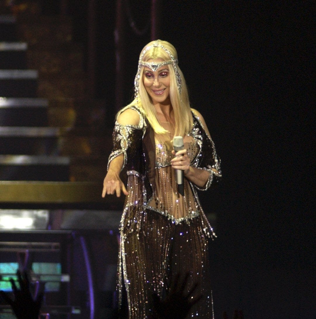 Cher books Buffalo show as part of her Here We Go Again Tour