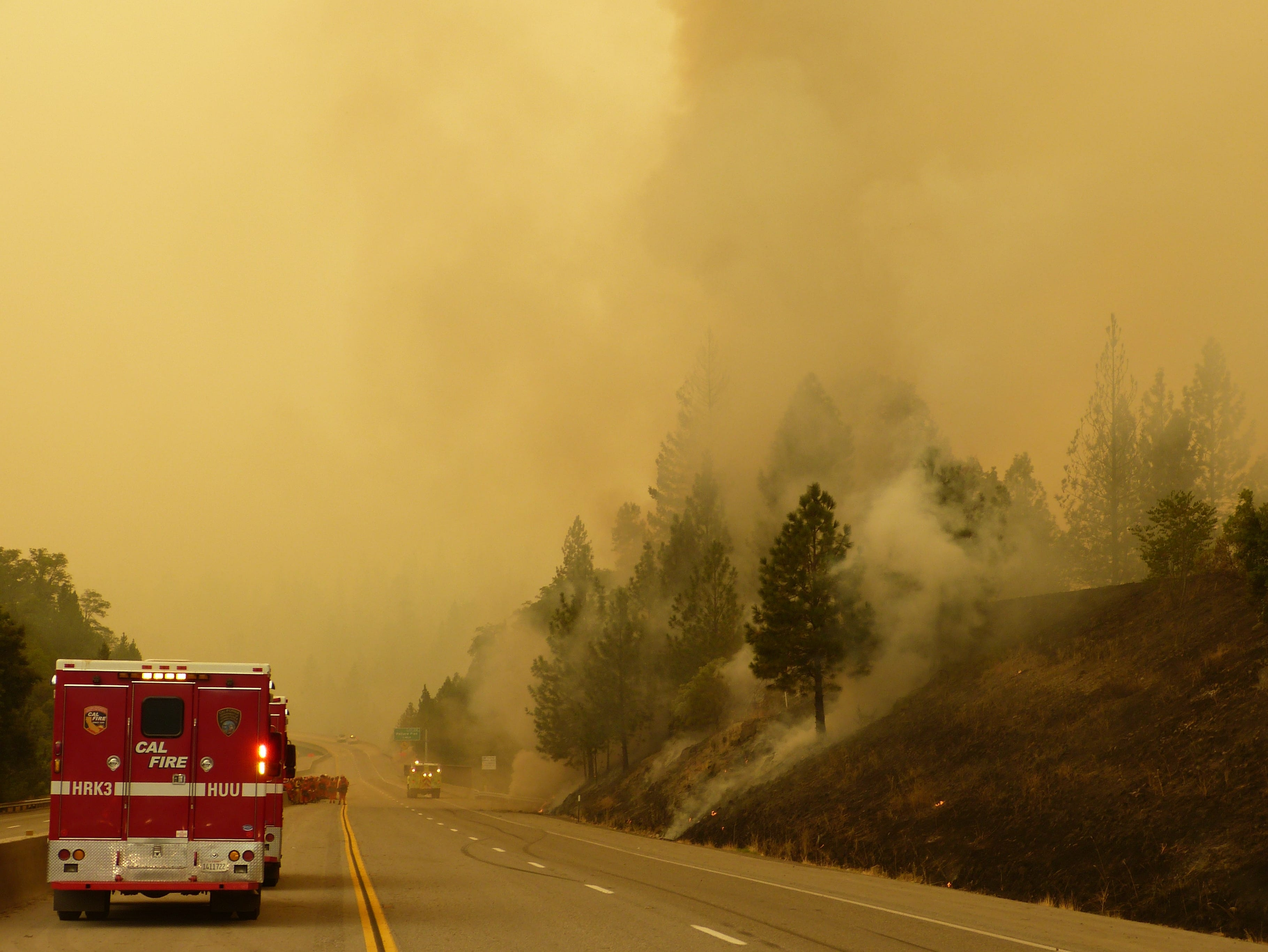 Firefighters continued Friday to do battle with the Delta Fire.