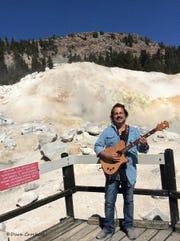 Craig Chaquico at Lassen's Bumpass Hell