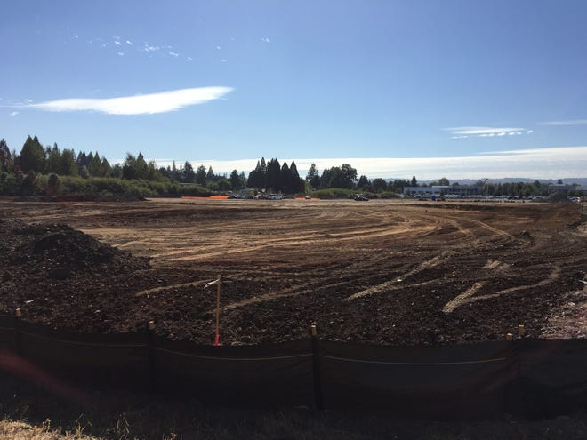 Construction at 700 Auto Group Ave. NE in Salem, Oregon, on Sept. 7, 2018.