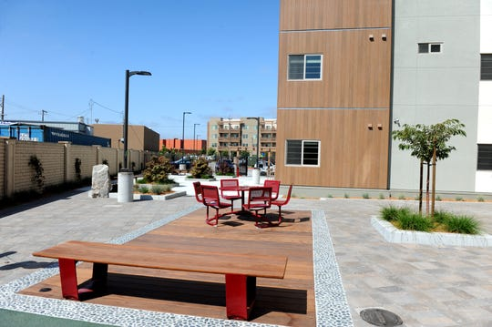A grand opening of the Hikari phase of the Haciendas Affordable Housing Redevelopment was held on Thursday.
