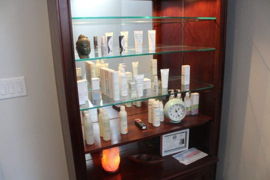 Skincare products offered at Jody Aesthetics, 2102 Pecos St., suite 12.