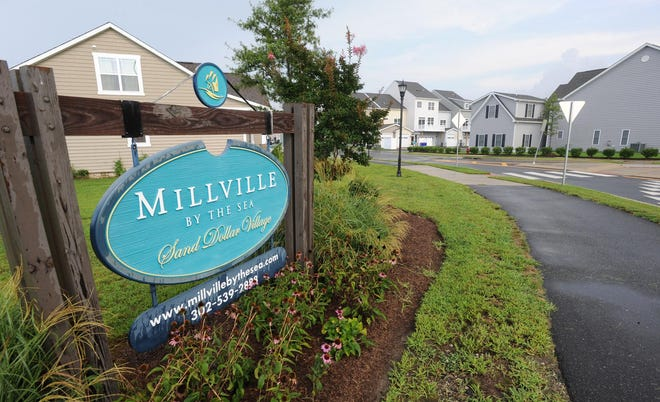 Sand Dollar Village in Millville By The Sea was the first of four neighborhoods build. It is the largest with 250 units.