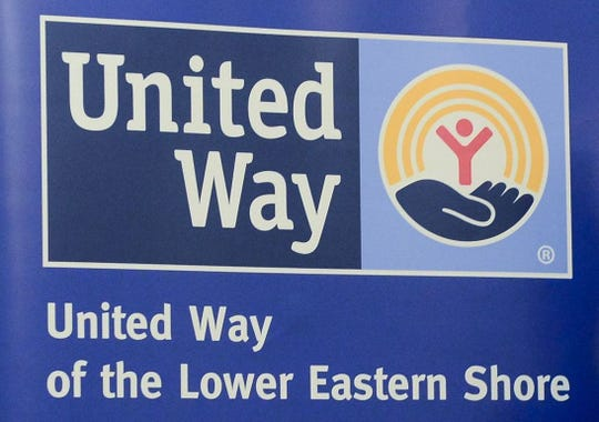 United Way of the Lower Eastern Shore sign.