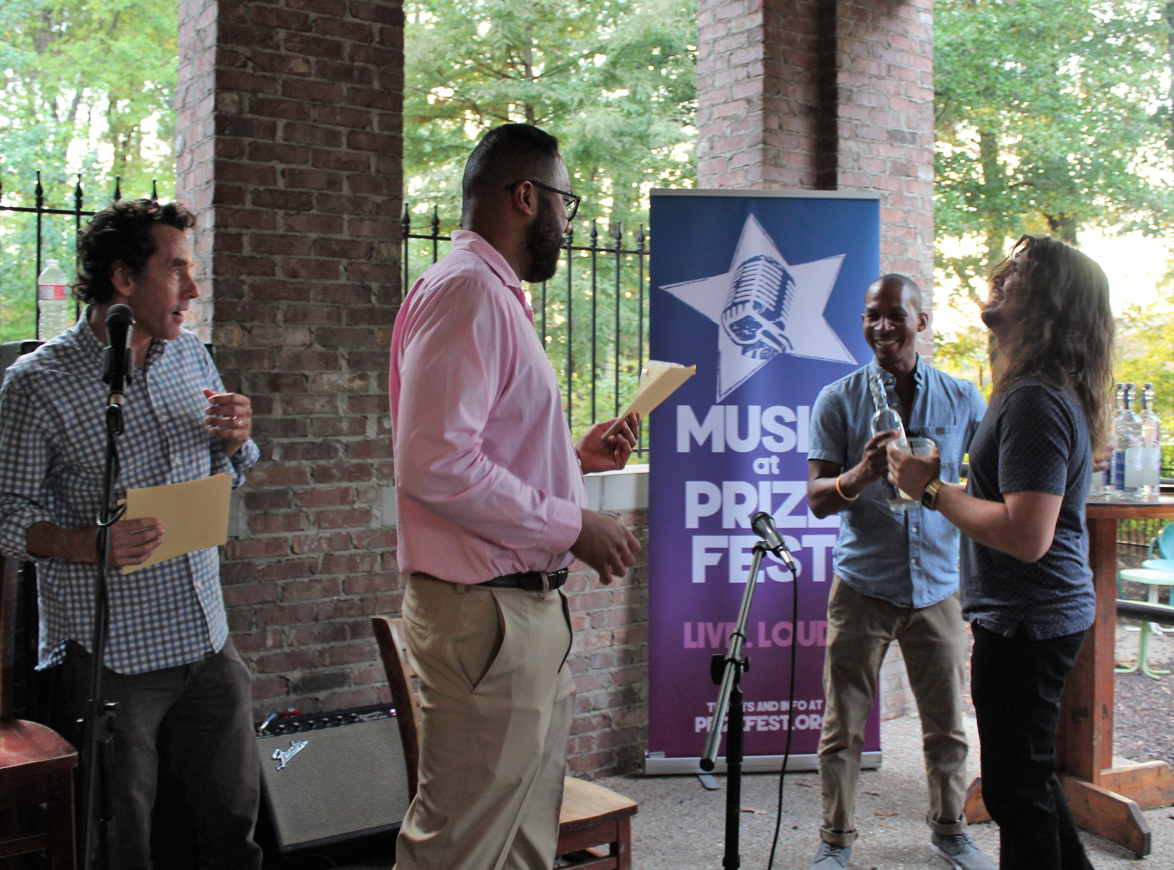 Good Spirits will advance to play Louisiana Music Prize Discovery Showcase to compete for $2,500, a trophy and to play the Music Prize main stage.