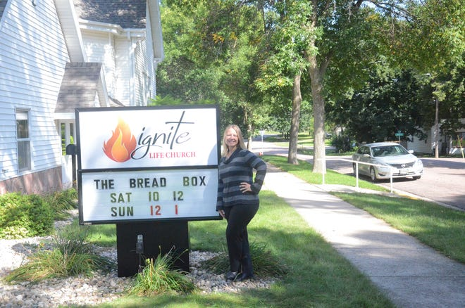 Melissa Fletcher is pastor of the former First Baptist Church, now Ignite Life Church in Dell Rapids, at 512 E. Fifth St.