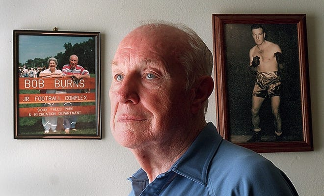 Bob Burns, a legendary coach whose promotional instincts matched his football acumen, sparked the Dakota Bowl tradition.