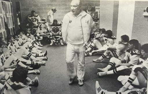 Bob Burns guided O'Gorman to a state championship in the first year of the playoff system in 1981.