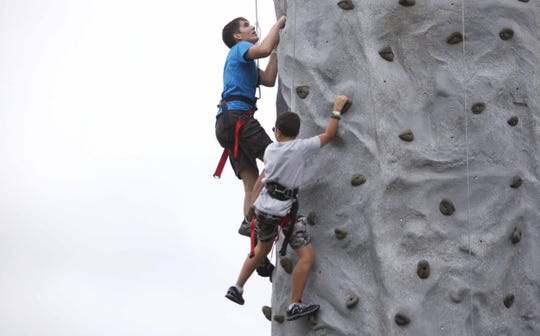 A free climbing wall will be part of Outdoor Days 2018.