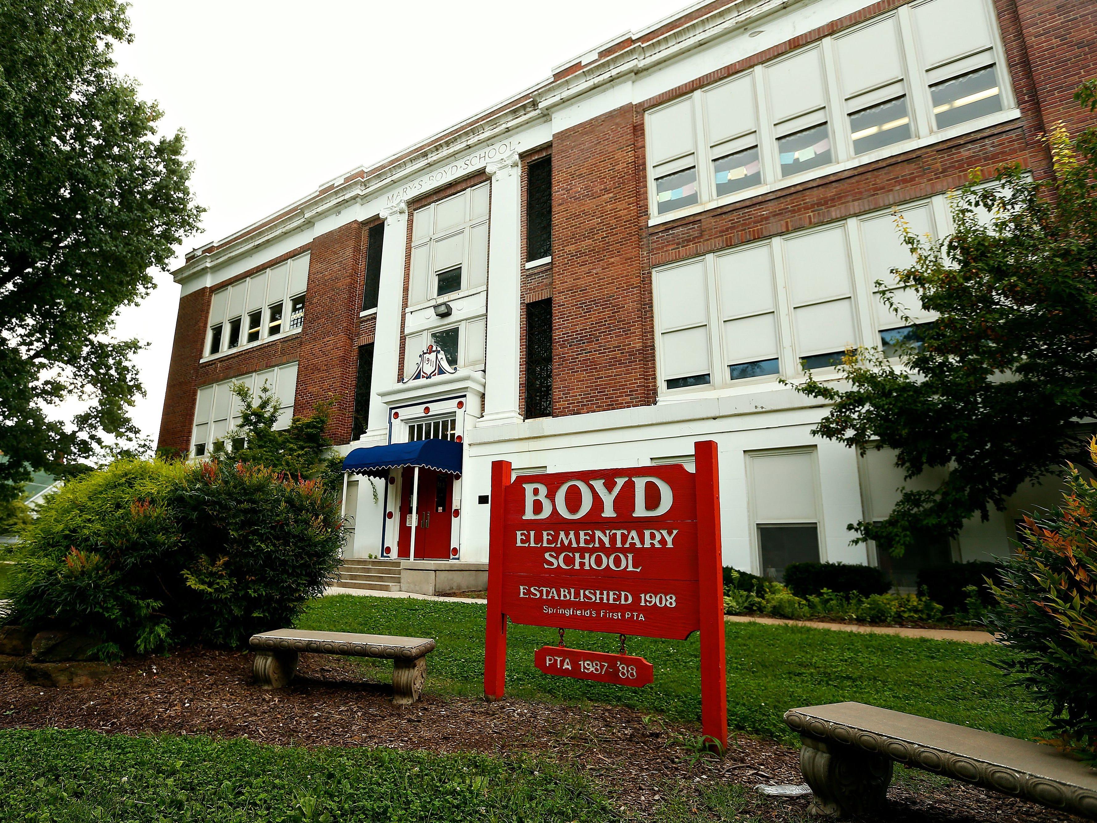 Boyd Elementary School.