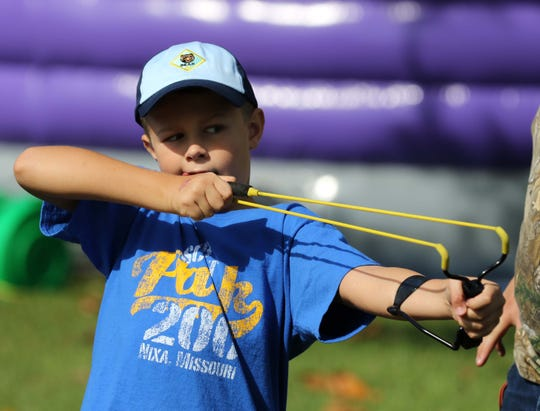 Slingshot target shooting and an air rifle target range will be part of Outdoor Days this weekend.