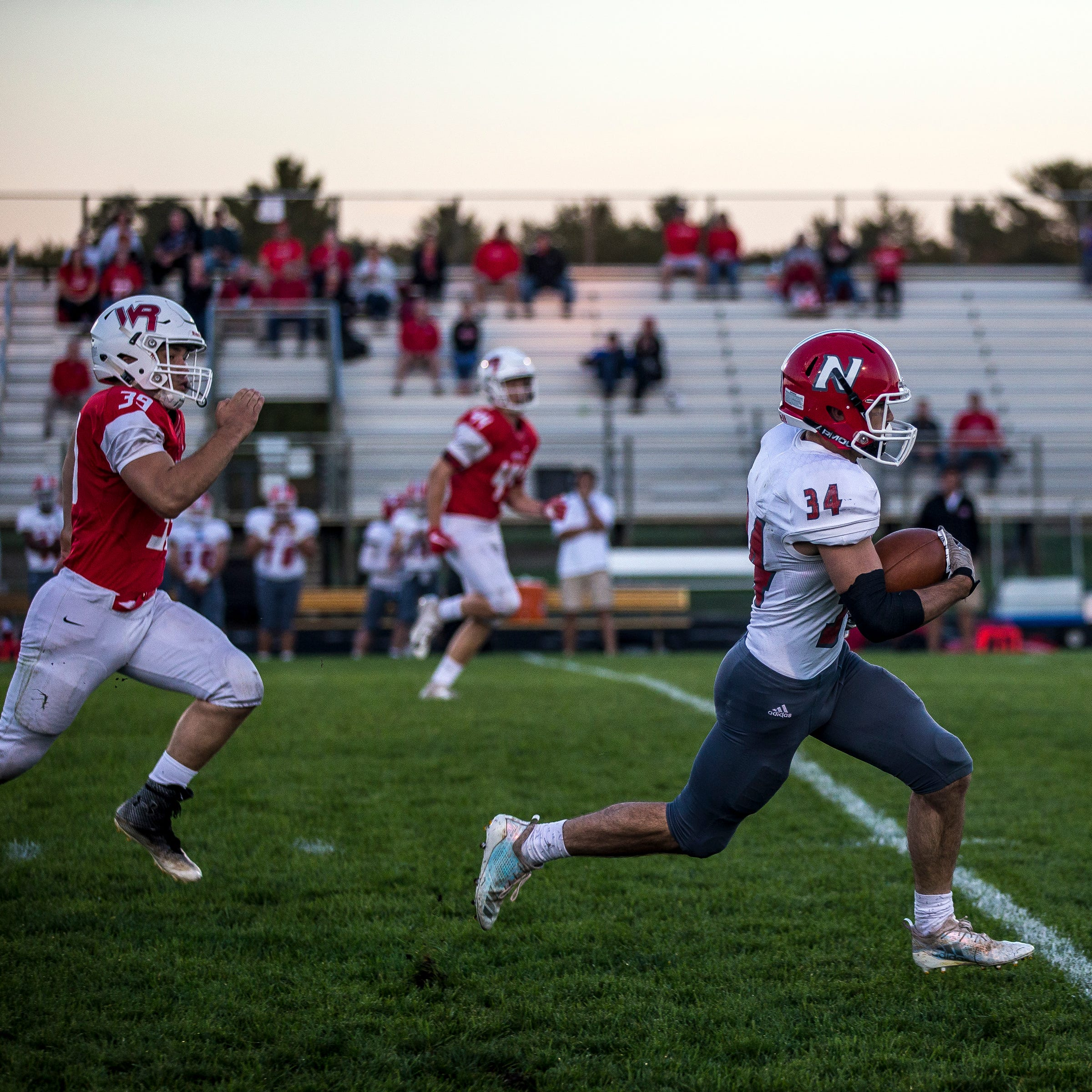 High school football: No. 8 ranked Neenah proves too much for Wisconsin Rapids