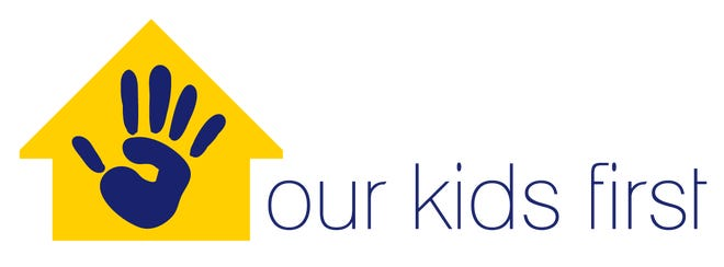 Logo for Our Kids First, a political action committee created to support the creation of a Children's Services Council.
