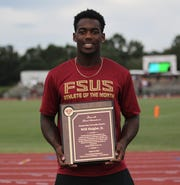 Recent Florida High grad Will Haigler Jr. was named one of two honorary recipients of the first Cam Brown Student-Athlete of the Year award.