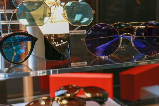 Lenses can be paired with popular designer frames to create a totally new and different look.