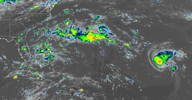 Atlantic conditions 2:30 p.m. Sept. 7, 2018