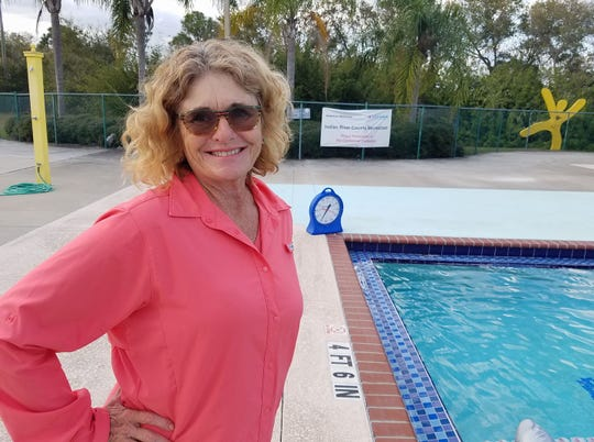 Adult swim specialist Deni Gillespie is an expert at teaching adult beginners who have a real fear of the water and want to swim.