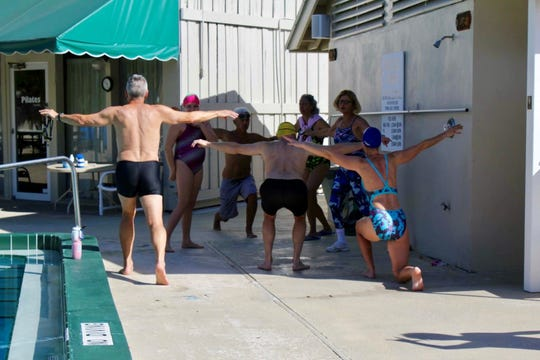 With the right instruction, Coach Deni Gillespie said, anyone can learn to swim well.