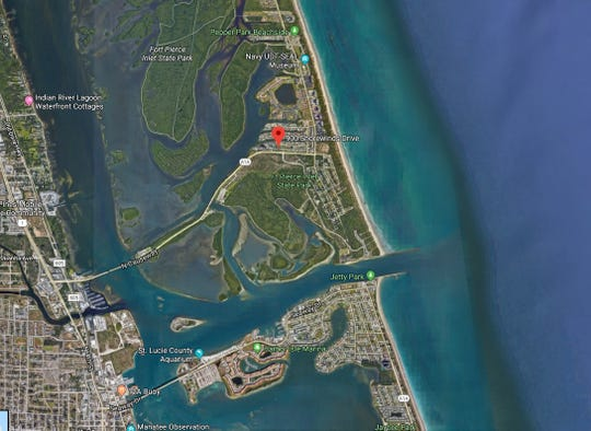 A surfer was bitten by a shark Sept. 7, 2018, while at Fort Pierce Inlet State Park.