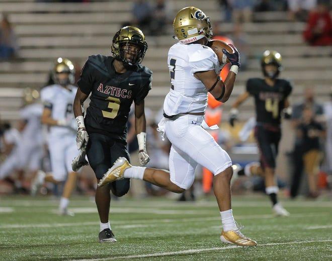 Coronado defeats El Dorado 30-13 Thursday night at the Socorro Student Activities Complex. Coronado improves to 1-1, while El Dorado still is searching for its first win.
