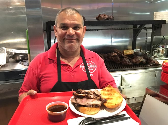 Marco Aguilar is the owner of Da Hickory House BBQ, which opened Sept. 1 at The Collection at RiverPark in Oxnard. The restaurant's Ventura location is scheduled to reopen soon.